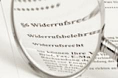 Widerrufsrecht bei Maklerverträgen