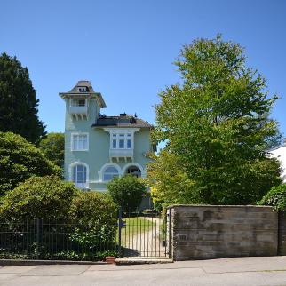 Villa an Parkanlage