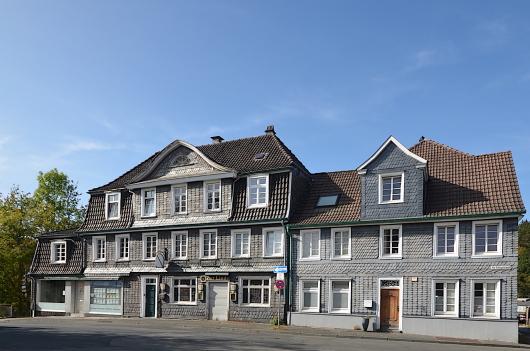 Fachwerkhäuser in Wuppertal-Beyenburg