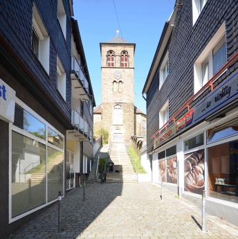 Gasse im Stadtkern von Wuppertal Ronsdorf